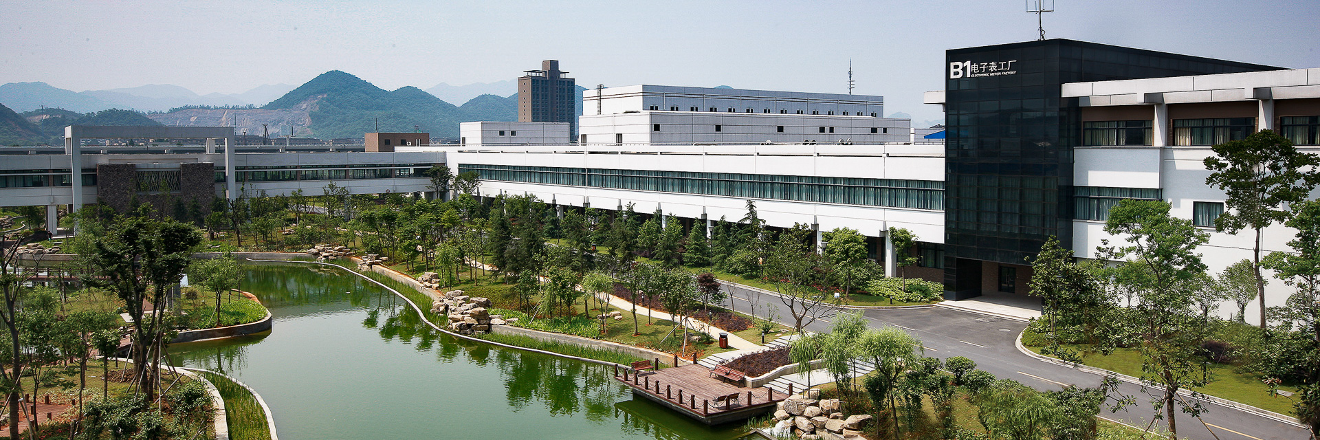 Holley Smart Meter Factory - Hangzhou, China