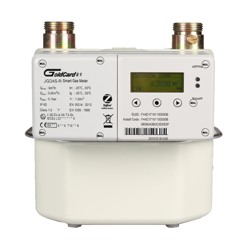 GoldCard JGD4S-R Smart Gas Meter